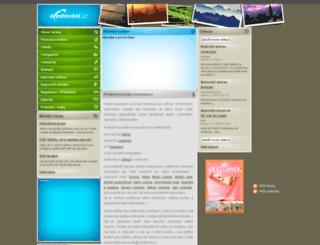 ocestovani.cz screenshot