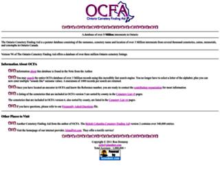 ocfa.islandnet.com screenshot