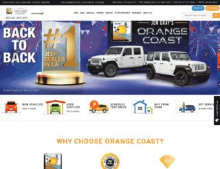 ocfiat.com screenshot