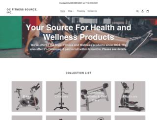 ocfitnesssource.com screenshot