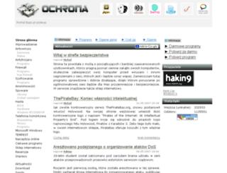 ochrona.bajo.pl screenshot