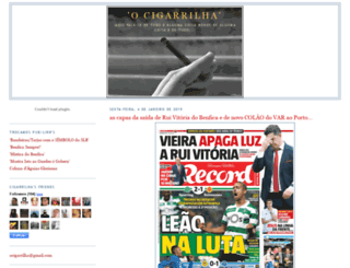 ocigarrilha.blogspot.com screenshot