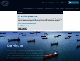 ocimf.org screenshot