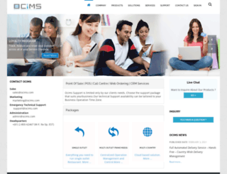 ocims.com screenshot