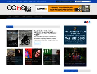 ocinsite.com screenshot