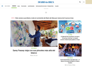 ocio.diariodeibiza.es screenshot