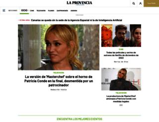 ocio.laprovincia.es screenshot