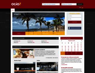ocio7.es screenshot