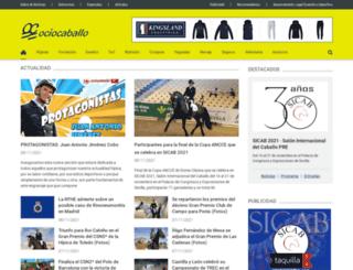 ociocaballo.com screenshot