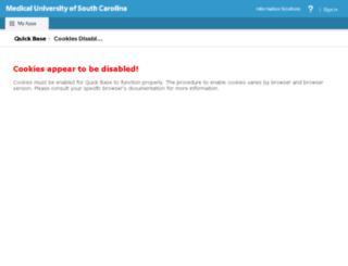 ociois.quickbase.com screenshot
