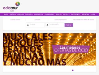 ociotour.com screenshot