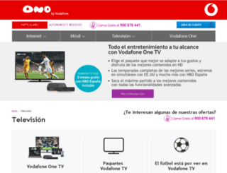 ocioytv.ono.es screenshot