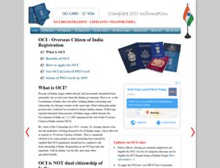 ociregistration.com screenshot