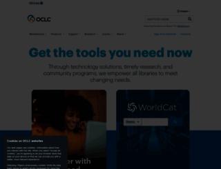 oclc.org screenshot
