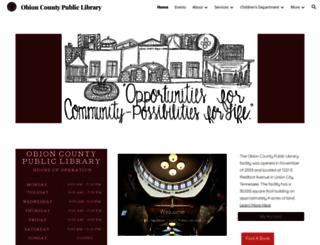 oclibrary.org screenshot