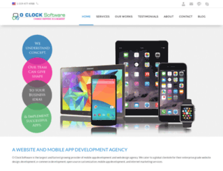 oclocksoftware.com screenshot