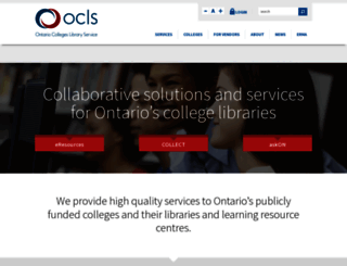 ocls.ca screenshot