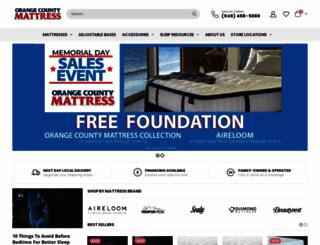 ocmattressrocks.com screenshot
