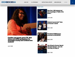 ocmboces.org screenshot
