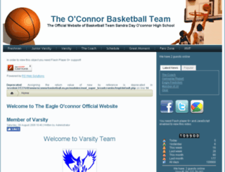 oconnorbasketball.eu.pn screenshot