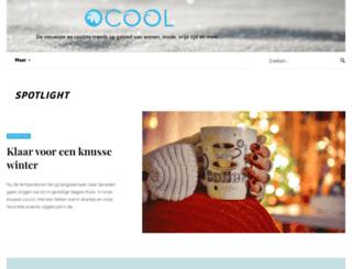 ocool.be screenshot