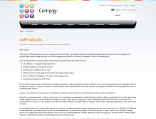ocproducts.com screenshot
