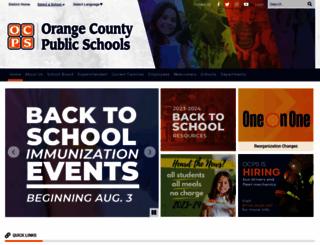 ocps.net screenshot