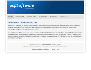 ocpsoftware.com screenshot