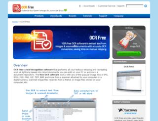 ocrfree.com screenshot