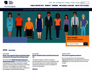oct.ca screenshot