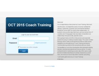oct2015coachtrainees.kajabi.com screenshot