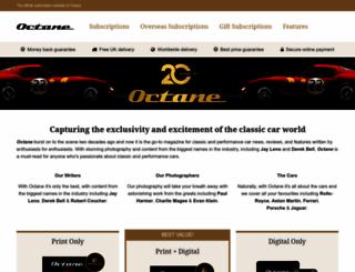 octane-magazine.com screenshot