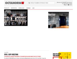 octanorm.de screenshot