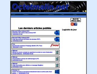 octetmalin.net screenshot