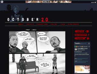 october20comic.com screenshot