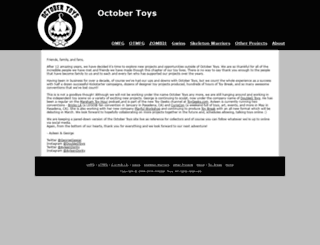 octobertoys.com screenshot