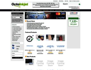 octoink.co.uk screenshot