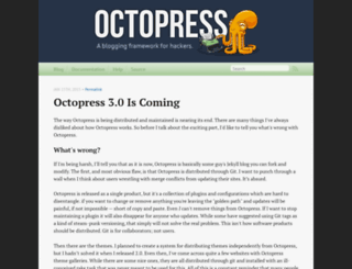 octopress.org screenshot