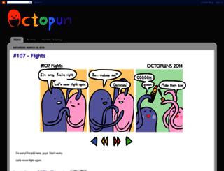 octopuns.blogspot.com screenshot