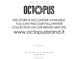 octopusbrand.bigcartel.com screenshot