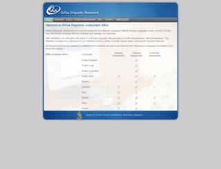 oda.lingnet.org screenshot