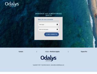odalys.info screenshot