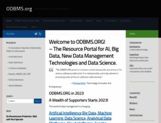 odbms.org screenshot