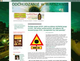 odchudzaniewwarszawie.blogspot.com screenshot