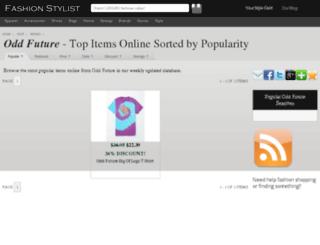 odd-future.fashionstylist.com screenshot