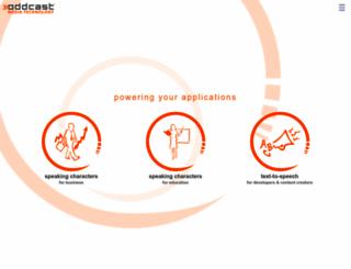 oddcast.com screenshot