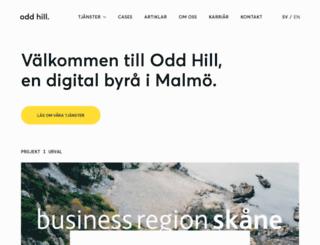oddhill.se screenshot