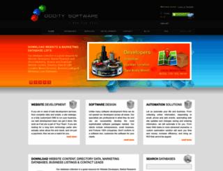 odditysoftware.com screenshot