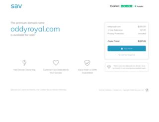 oddyroyal.com screenshot