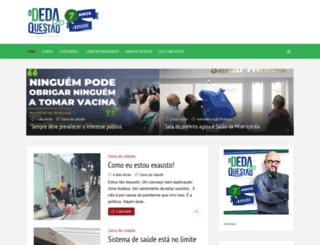 odedaquestao.com.br screenshot
